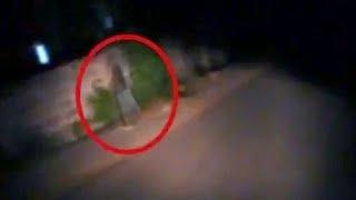 Mysterious Ghost Caught On Tape On An Abandoned Road!! Ghosts