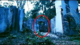 Ghost Caught on Camera From an Old Abandoned Haunted Building !! Scary Videos