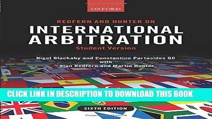 [PDF] Redfern and Hunter on International Arbitration Full Online