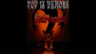 TOP 13 DEMONS BY SOULREAPERZ