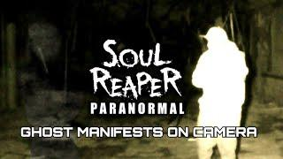 GHOST CAPTURED MANIFESTING ON CAMERA | ABANDONED RAF CAMP | SOUL REAPER PARANORMAL
