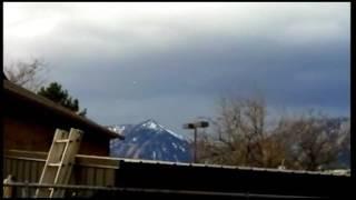 UFO filmed over Colorado!