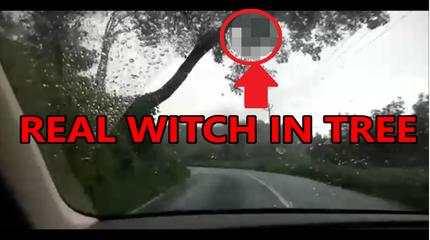The decisive moment caught on camera the witches