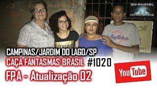 Reforma da Casa do José Antonio Atualização 02 - FPA Caça Fantasmas Brasil