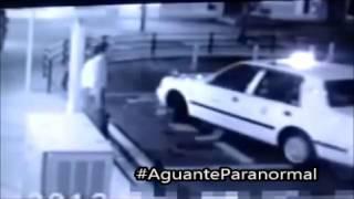 #AguanteParanormal | MUJER FANTASMA EN CAMARA DE SEGURIDAD