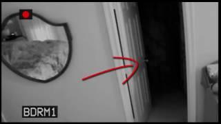 paranormal activity Reel Ghost caught on CCTV Camera footage