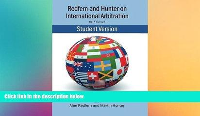 Must Have  Redfern   Hunter on International Arbitration  READ Ebook Online Audiobook