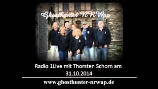Ghosthunter NRWup bei 1Live / Thorsten Schorn am 31.10.2014 (2 Parts)