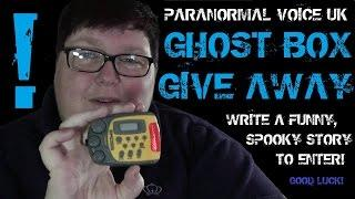 Paranormal Voice | GHOST BOX GIVE AWAY | Don't miss this!