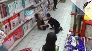 'Possessed' Woman in Chinese Supermarket Calmed Down By Exorcism, Caught on CCTV | Real or Fake?