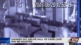 Is This Footage Of A Ghost At A Texas Cafe?
