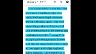 once saved always saved and the hyper Grace movement is two more false lie doctrines of the devil