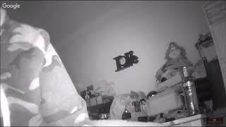 REAL SPIRIT  APPARITION CAUGHT ON LIVE STREAM