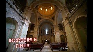 INCREDIBLE CHURCH FOUND INSIDE ABANDONED HOSPITAL