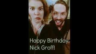 Happy Birthday Nick Groff!