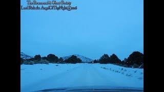 """Belmont Nevada - Part 1 """"A Dismal Road To A Snowy Pioneer Cemetery"""