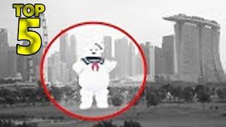 5 ALIVE MARSHMALLOW MAN CAUGHT ON CAMERA & SPOTTED IN REAL LIFE!