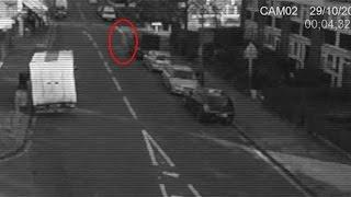 Ghostly Shape Caught On CCTV Camera | Ghost Videos 2015 | Frightening Scary Videos