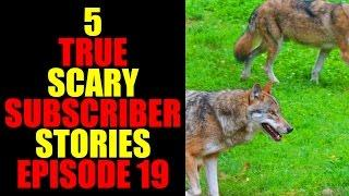 5 TRUE SCARY SUBSCRIBER STORIES EPISODE 19