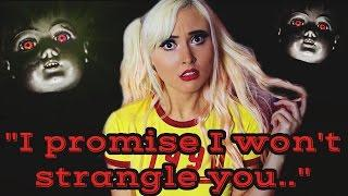 """I PROMISE I WON'T STRANGLE YOU.."" 