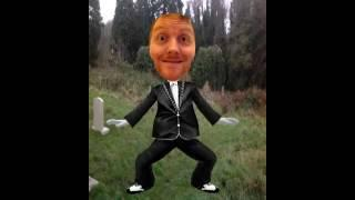 Alex from UK-Haunted Does Gangnam Style in Boughton Cemetery!