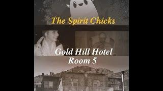 Gold Hill Hotel Paranormal Investigation ( DOOR OPENING clip)