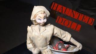 Making contact with a haunted NURSE DOLL