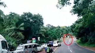Ghost Caught On Tape | Ghostly Shadow Crossing Haunted Road | Scary Video | Paranormal Activity