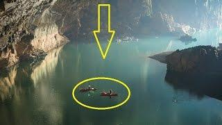 Travel 5 Kilometers Underwater to find Ice Palace grotto & Ice lake inside Cave