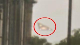 Shocking Video Of Real Ufo In The Sky Over Los Angeles City!! Breaking Ufo Sightings News!!