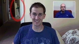 Webcam Ghost! Too Scary! (Paranormal Activity Caught On Tape)
