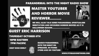 Paranormal Into The NIght The Death Twitch Horror Review Eric Harrison