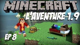 [Minecraft] L'aventure 1.9 - Episode 8 - PARANORMAL ACTIVITY [Fr]