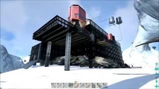 ARK Xbox One [FR] Forteresse de Glace (TEASER #18 je visite les construction des abonnés)