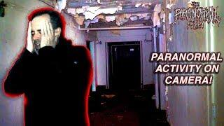 Real Scary PARANORMAL ACTIVITY Caught on Camera in Abandoned Hospital | THE PARANORMAL FILES