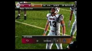 NCAA Football 2011 PS2 Gameplay (Gamecocks VS Auburn)
