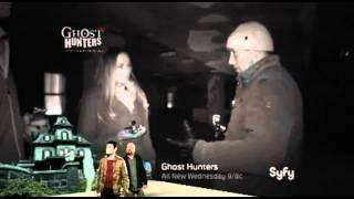 Possible apparition caught during Ghost Hunters LIVE 2010