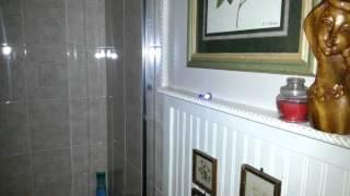 Ghost  light orange orb plus turned on flashlight.