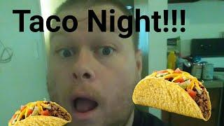 Taco Night!! Cooking Tacos Vlog!