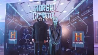 Giorgio en CDMX| History Channel Aliens Ancient |