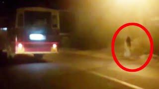 Real Ghost Caught On Tape While Driving At Night!! Ghosts!!