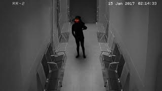 Black Ghostly Shadow Found - Looking With Burning Eyes (HD)