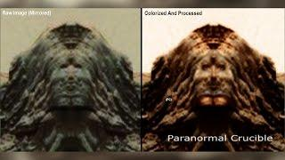 Possible Martian Deity Found On Mars?