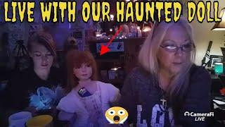 The G Team Paranormal LIVE WITH HAUNTED DOLL