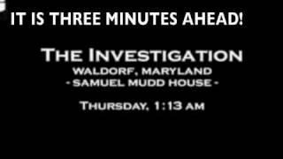Ghost Hunters Samuel Mudd House FAKE