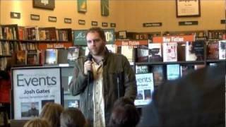 Syfy's Destination Truth Host, Josh Gates First Book Signing for Memoirs of a Monster Hunter