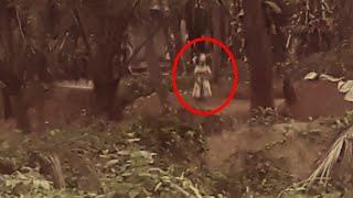 Creepy Monster Video Caught On Tape!! Spooky Mystery Captured On Mobile Camera!!