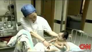 3 handed korean baby