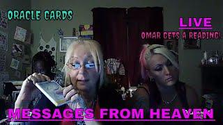 """ORACLE CARD READINGS """"LIVE""""!!"""