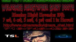 Half Past Dead Paranormal Radio Christopher Saint Booth interview